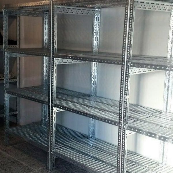 قفسه های گالوانیزه مخصوص سردخانه