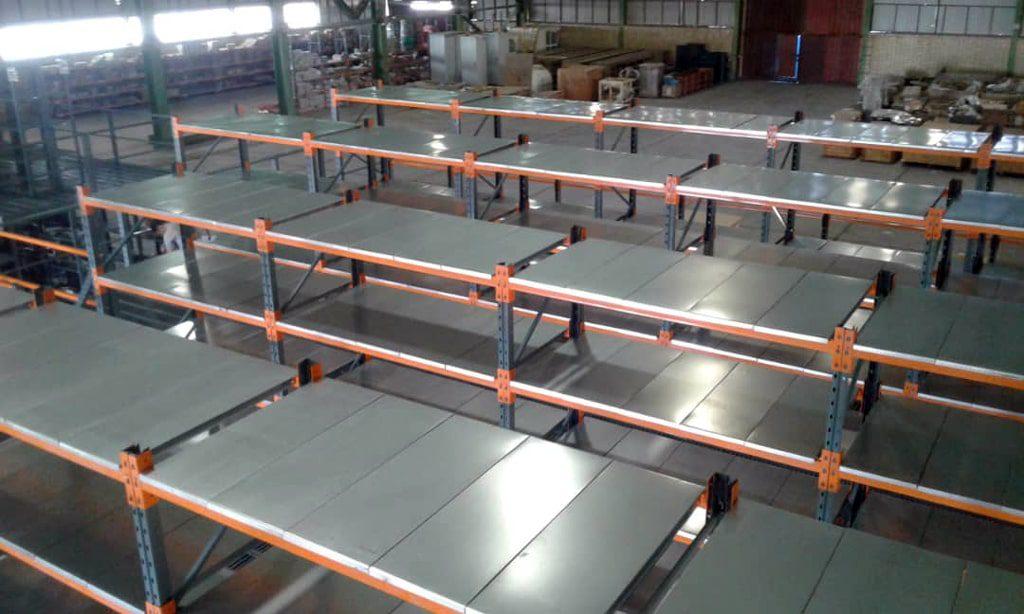 پروژه قفسه مشبک و بالکی راک فولاد روهینا 02