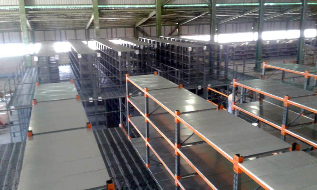 پروژه قفسه مشبک و بالکی راک فولاد روهینا 04
