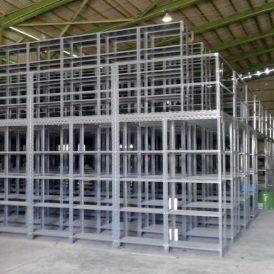 پروژه قفسه مشبک و بالکی راک فولاد روهینا