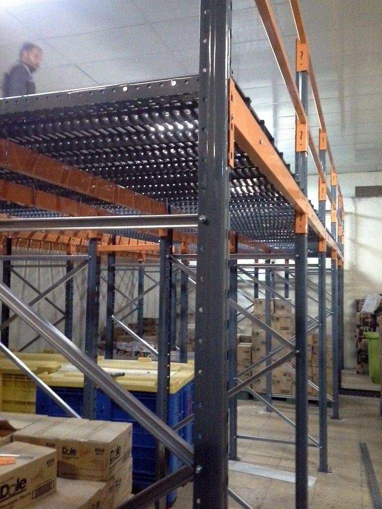 پروژه قفسه نیم طبقه شرکت مروارید سیاه 02