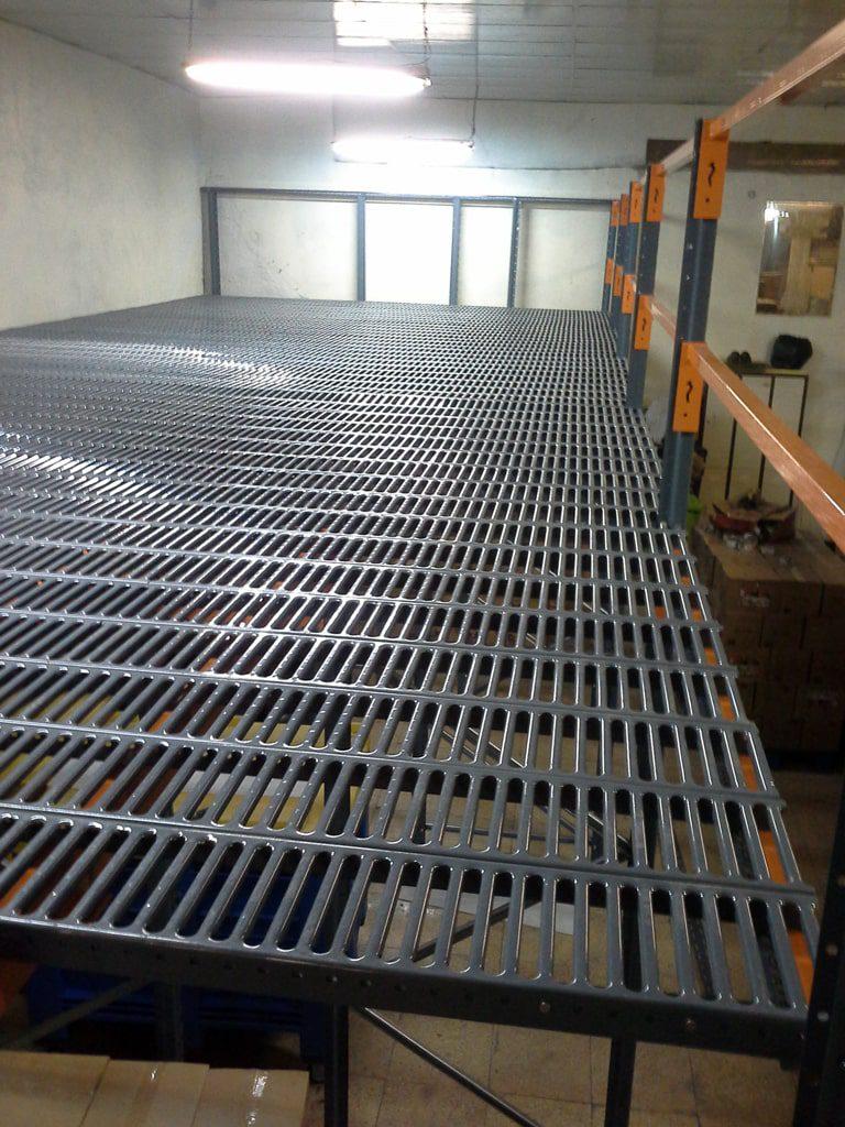 پروژه قفسه نیم طبقه شرکت مروارید سیاه 04