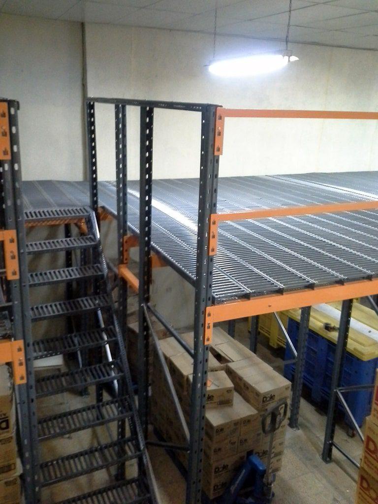 پروژه قفسه نیم طبقه شرکت مروارید سیاه 05