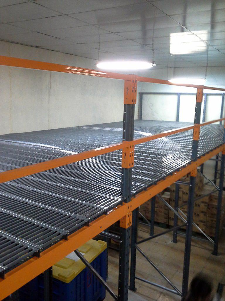 پروژه قفسه نیم طبقه شرکت مروارید سیاه 06